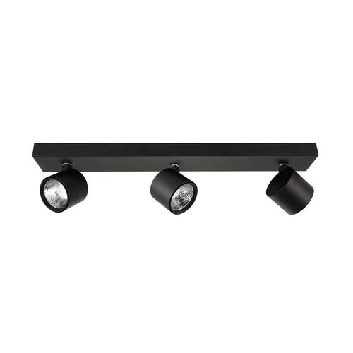Černý moderní bodový reflektor Boniva LED