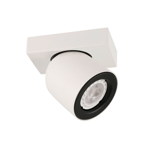 Bílý moderní reflektor Nuora GU10
