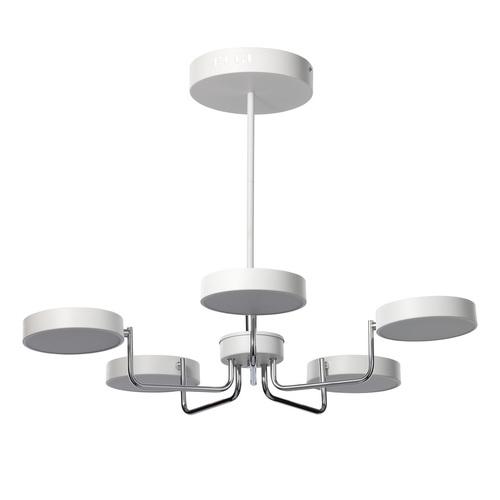Závěsná lampa Hamburg Hi-Tech 60 Chrome - 605015405