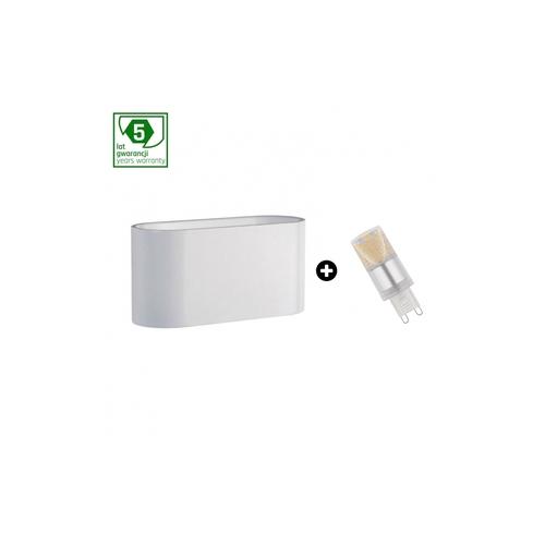 Balíček 5leté záruky: Squalla G9 White + Led G9 4w Cw (Slip006009 + Woj + 14435)