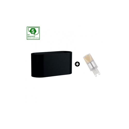 Balíček 5leté záruky: Squalla G9 Black + Led G9 4w Nw (Slip006010 + Woj + 14434)