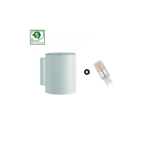 Balíček 5leté záruky: Squalla G9 Tuba White + Led G9 4w Nw (Slip006011 + Woj + 14434)