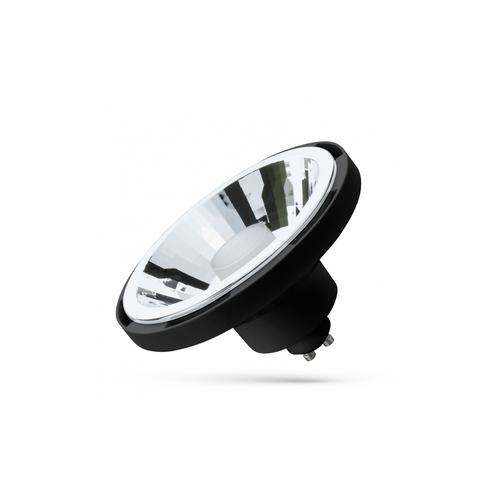LED Ar111 10W Gu10 Smd 230V Černá 30st CCT + Dimm Wi-Fi / Bt Spectrum Smart