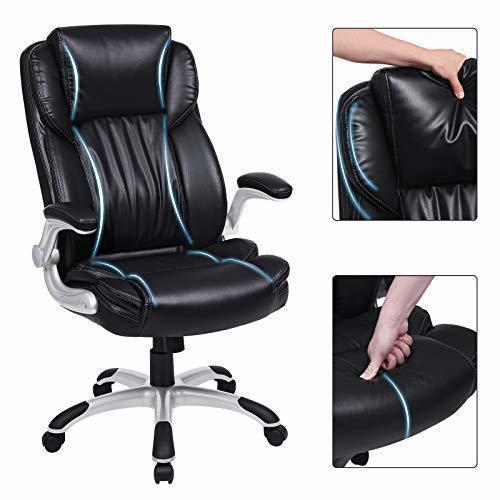 Černá kancelářská židle OBG94BK