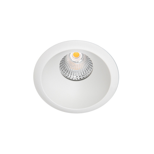 Bílý zapuštěný strop Torres Deep IP44 LED