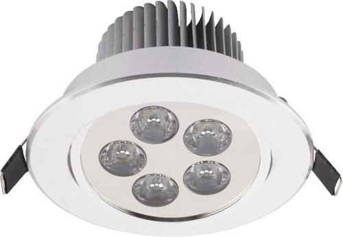 Svítidlo: DOWNLIGHT LED V SILVER