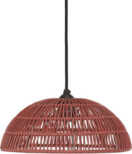 Venkovní přívěsek na 30cm lampu Shue Shade Red - PR Home