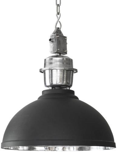 Závěsná lampa Manchester Pendant černá / stříbrná 52cm - PR Home