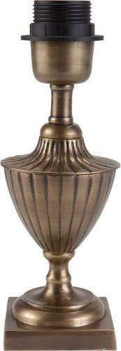 Stolní lampa Pollino Patice lampy Starožitná mosaz 24cm - PR Home