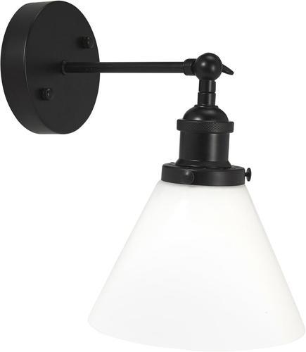 KInquet do koupelny Lambda Black, opál 18cm - PR Home