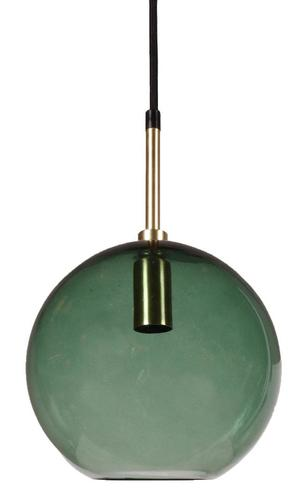 Závěsná lampa Milla Small Pendant Gold / green 20cm - PR Home
