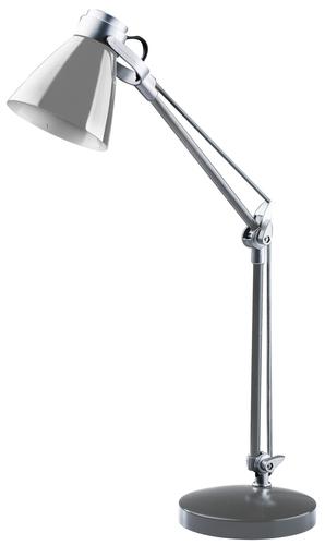 Stolní lampa Sophie 230V / 25W E14 stříbrná