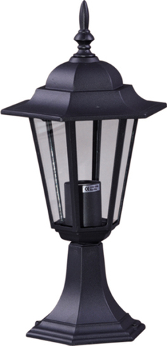 Nízká venkovní černá stojící lampa K-5009S ze série STANDARD