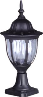 Nízká externí černá stojící lampa K-5007S2 / N ze série Vasco