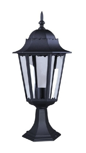 Nízká venkovní černá stojící lampa K-5006S ze série LOZANA