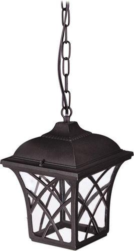 Závěsná venkovní lampa K-5180H černá ze série KERRY