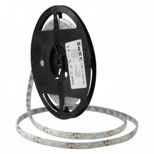 Taśma LED Liniowy moduł 300LED 5M IP65 6400K 230V z wtyczką