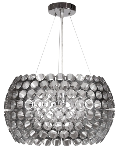 Závěsná lampa Abros 40 1X60W E27 stříbrná