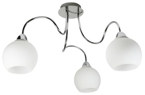 Závěsná lampa Nelda 3X60W E27 chrom