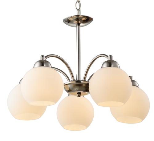Závěsná lampa Tobago 5X60W E27 satén