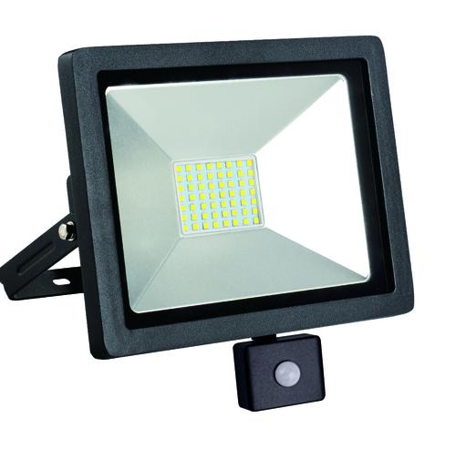 LED tenký 30W / 230V 4000K PIR světlomet