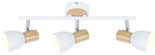 Stropní svítidlo Anabel 2 Stropní svítidlo 3Xmax25W E14 bílá + dřevo
