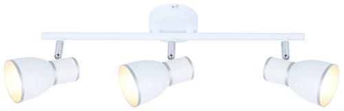Stropní lampa Fido 3X40W E14 bílá + chrom