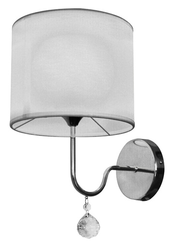 Nástěnná lampa Brava D-22 1X60W E27 bílá