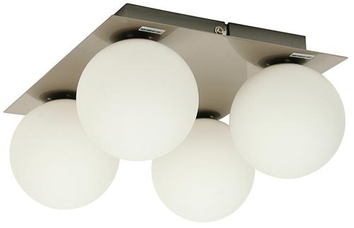 Stropní lampa Etiuda Plafond Quadruple Nickel Mat 4Xg9 / 40W 230V