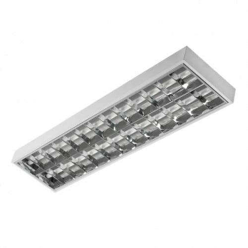 Oprawa rastrowa do świetlówek LED 2x36W natynk