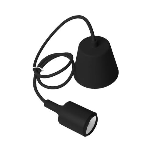 Stropní svítidlo Moderna E27 60W černá