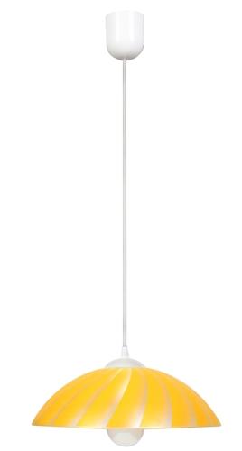 Kamila závěsná lampa 1X60W E27 žlutá