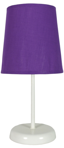 Gala lampa 1x40W E14 fialová