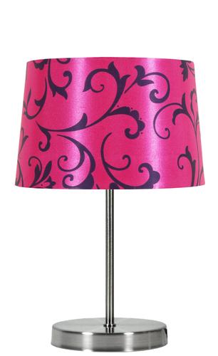 Lampa Arosa 1X40W E14 růžová