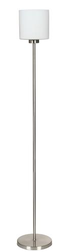 Stojací lampa Visola s vypínáním 1X60W E27 nikl mat