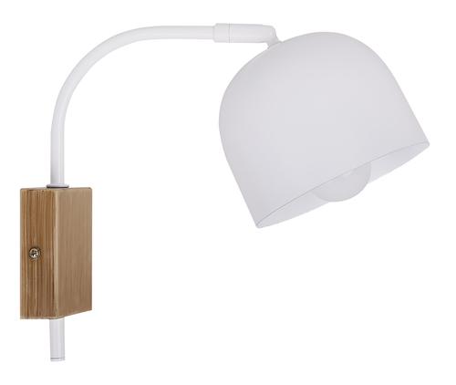 Nástěnná lampa Rupi 1X40W E27 bílá