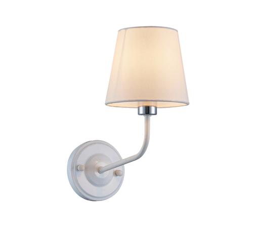 York 1 Bílá nástěnná lampa