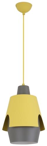 Žlutá závěsná lampa Falun 1