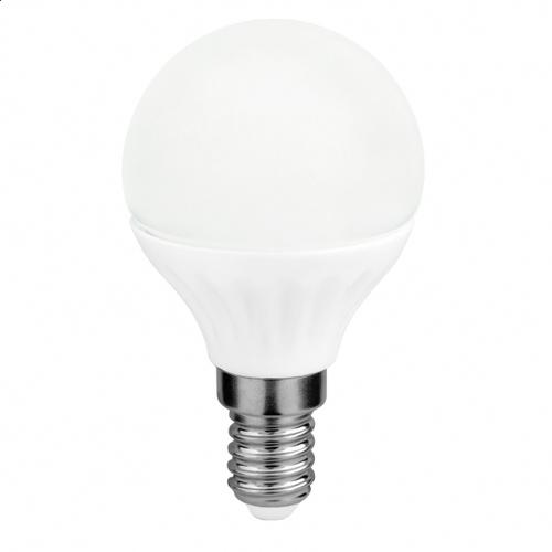 LED světelný zdroj G45 4W E14 3000K