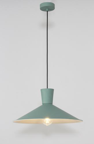 Závěsná lampa Elista 1 zelená