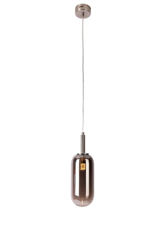 Závěsná lampa Fiuggi 1 stříbrná
