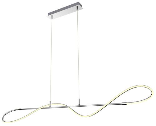 Závěsná lampa Mykonos 120X7 24W Led Chrome 4000K Apeti