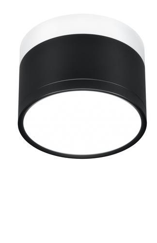 Stropní lampa Tuba 9W LED 4000K černá + bílá + průměr. 8,8 cm