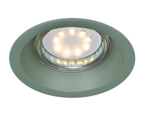 Stropní lampa Sa-12 Gr Gu10 Max 35W 230V, zelená barva hliníku