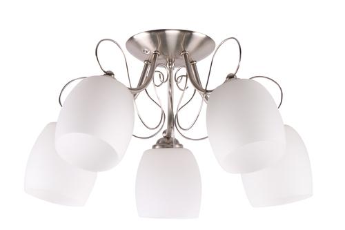Stropní lampa Amba 5X40W E27 bílá