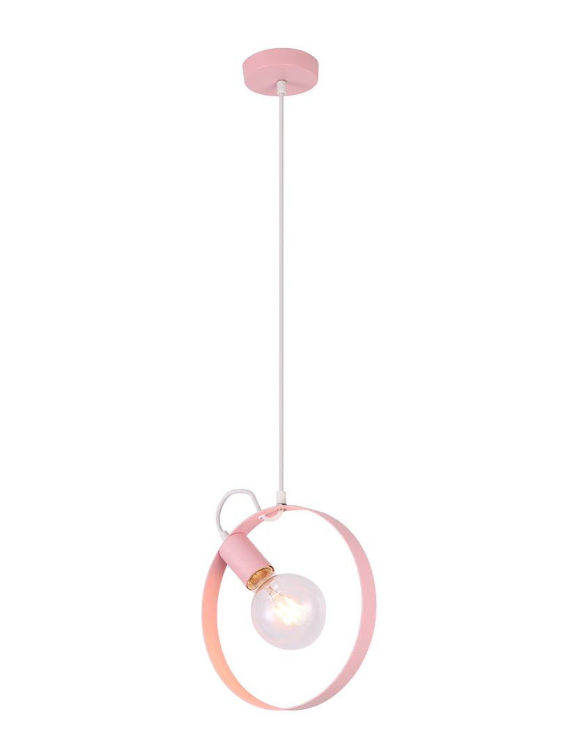 Závěsná lampa Nexo 1 Rózówy