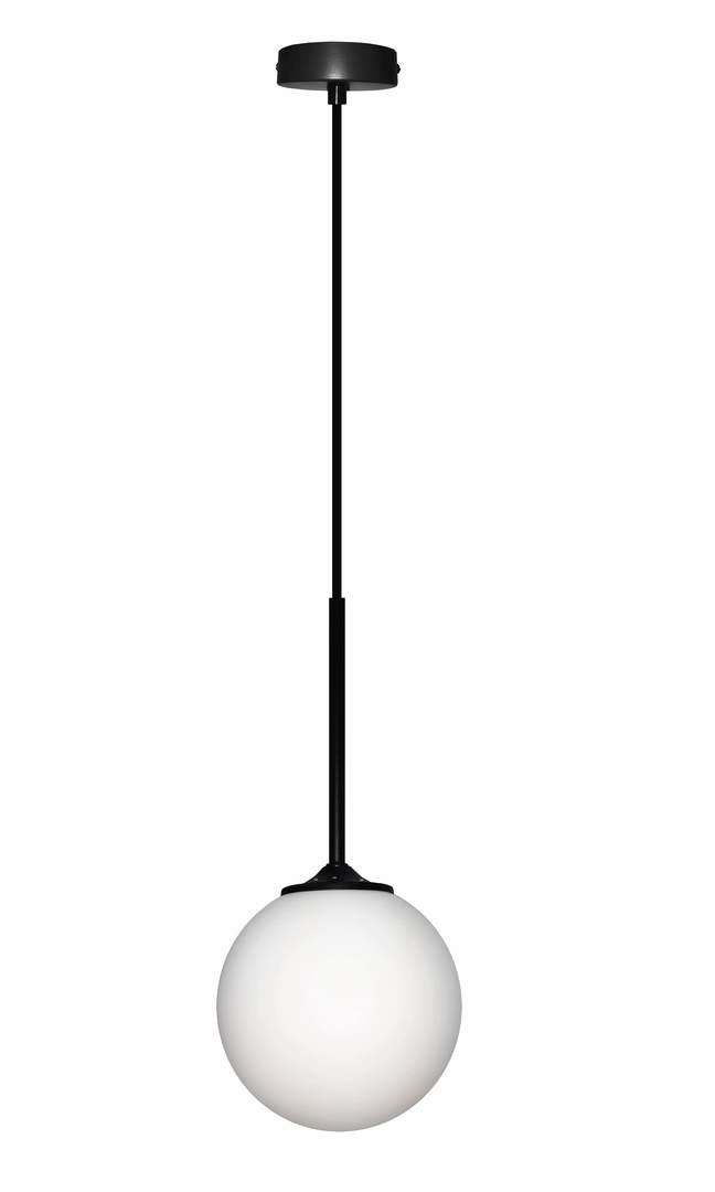 Závěsná lampa Glasgow I 1 Black 90X15X15