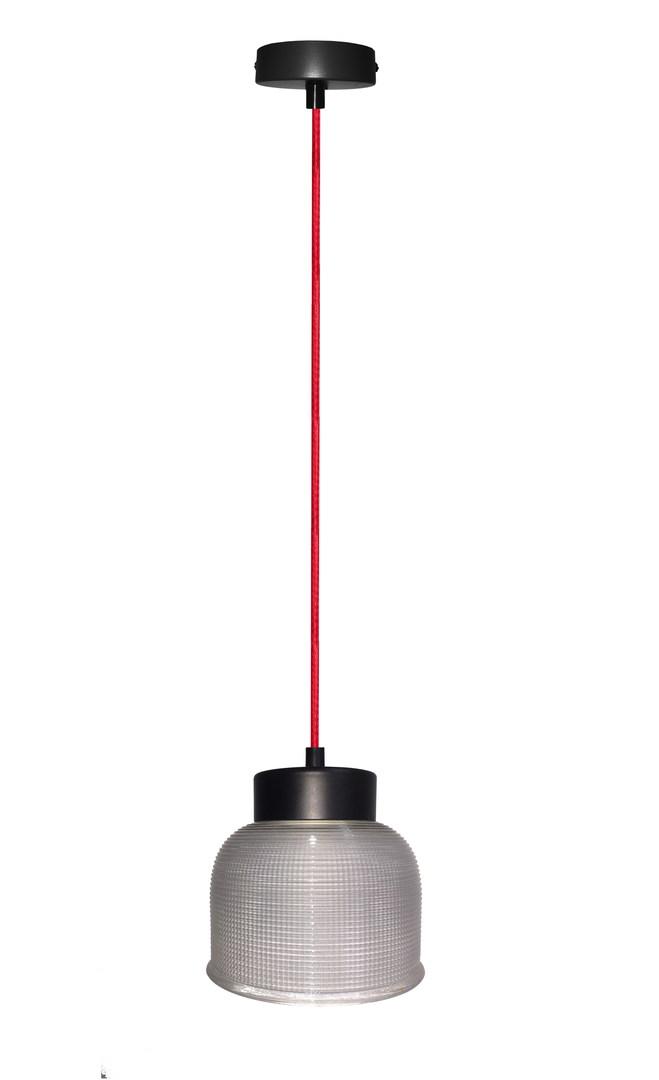 Závěsná lampa Liverpool I 1 červená 90X14,5X0