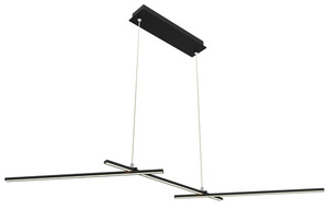 Závěsná lampa Thasos 103X23 23W LED černá 4000K Apeti small 0