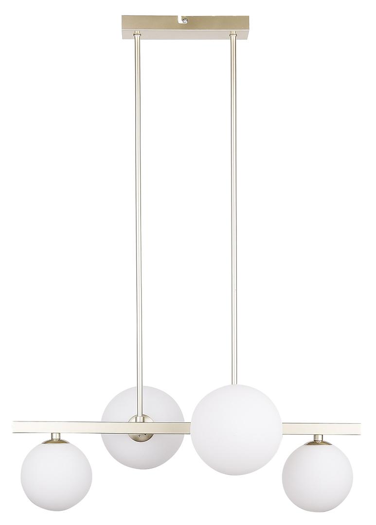 Závěsná lampa Kama 4X28W G9 mosaz